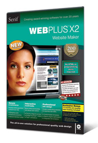 Serif WebPlus X2 web design software