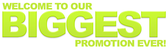 Welcome to our BIGGEST promotion ever! £20 web design!