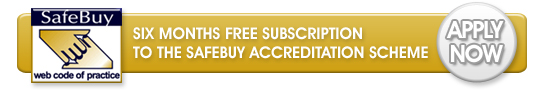 Six months free subscription to the Safebuy Accreditation Scheme - apply now!