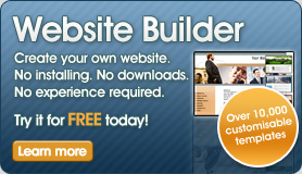 Website Builder - Create your own website. No installing. No downloads. No experience required. Try it for FREE today!
