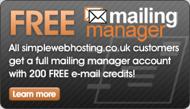 Online e-mail marketing system that can run your e-mail marketing campaign - full account with 200 FREE credits!